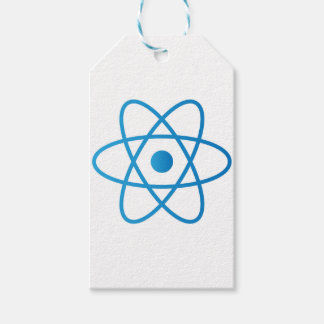 Abstract Isolated Atom Gift Tags