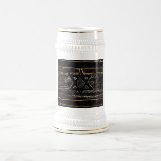Abstract Israel Beer Steins