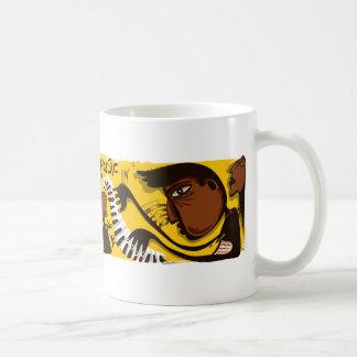 Abstract Jazz Mug