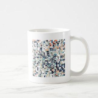 Abstract Jumbled Mosaic Coffee Mug