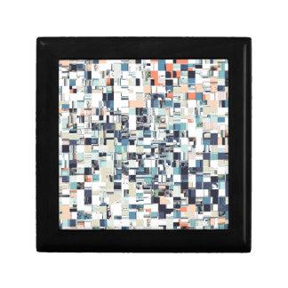 Abstract Jumbled Mosaic Gift Box