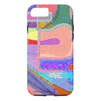 Abstract Jumping Jay iPhone 7 Case