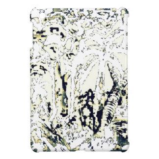 abstract jungle iPad mini cover