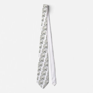 abstract jungle tie