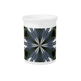 abstract kaleidoscope pitcher