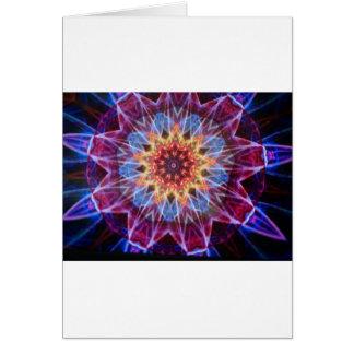 Abstract Kaleidoscope  Print Card
