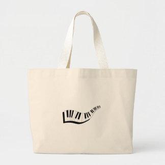 Abstract Keyboard Jumbo Tote Bag