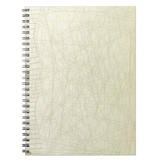 Abstract Keyboard Note Book