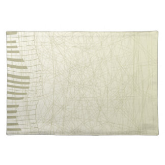 Abstract Keyboard Placemat