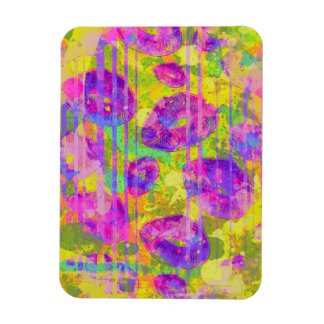 Abstract Kisses Rectangular Photo Magnet