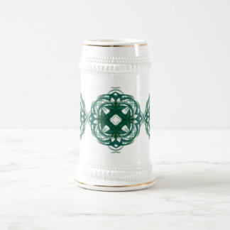 Abstract Knotwork Beer Steins