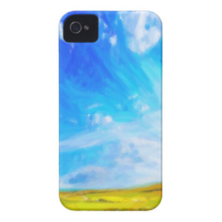 Abstract Landscape 2 iPhone 4 Cases
