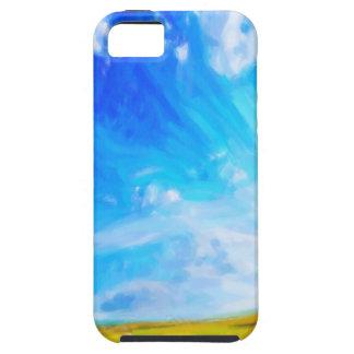 Abstract Landscape 2 Tough iPhone 5 Case
