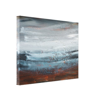 Abstract Landscape Fine Art Print on Canvas
