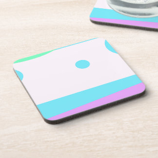 Abstract Landscape with 3 Moons - Coaster
