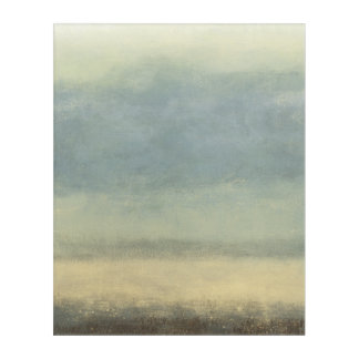 Abstract Landscape with Overcast Sky Acrylic Print