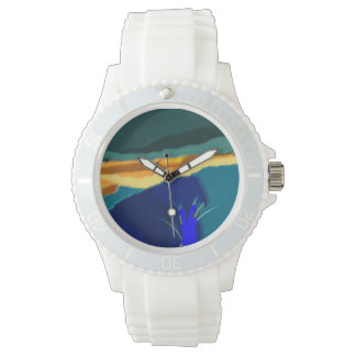 abstract lanscape watch