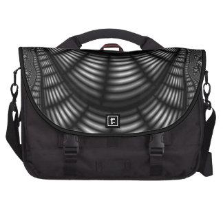 abstract laptop messenger bag