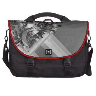 ABSTRACT LAPTOP COMMUTER BAG