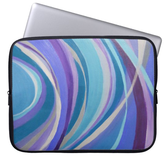 "ABSTRACT LAPTOP SLEVE, NEOPRENE, 15"" LAPTOP SLEEVE"