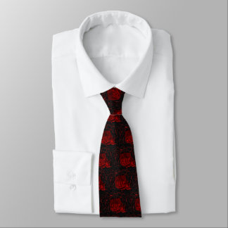 Abstract Lava Tie