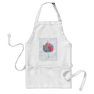 Abstract leaf 2 standard apron