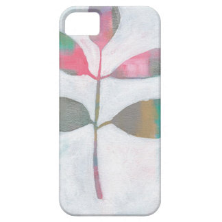 Abstract leaf barely there iPhone 5 case