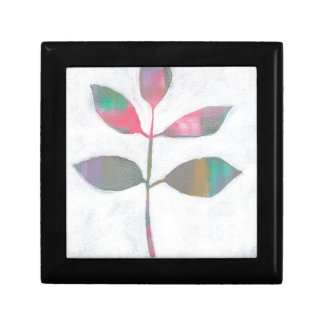 Abstract leaf gift box
