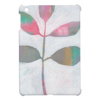 Abstract leaf iPad mini cases