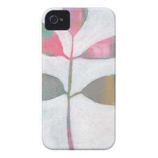 Abstract leaf iPhone 4 cover