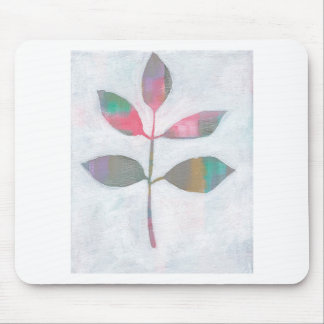 Abstract leaf mouse pad