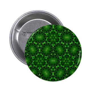 Abstract leaf pattern button