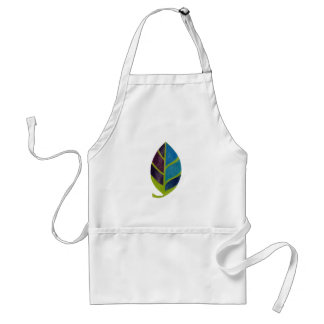 Abstract Leaf Standard Apron