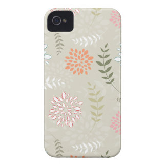 Abstract Leaves iPhone 4 Cases