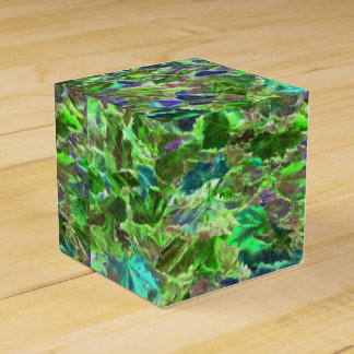 Abstract Leaves Nature Pattern Favour Box