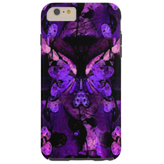 Abstract Leaves Phone Case - Purple