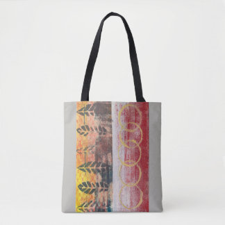 Abstract Leaves Red & Yellow 170256 Bag