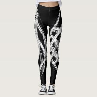 abstract leggings