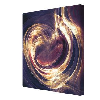 Abstract Light - Aura of Life Canvas Print