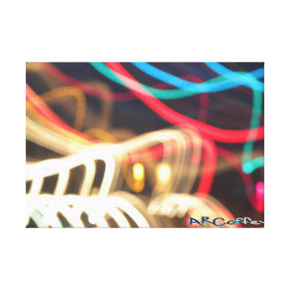 Abstract Light Stretched Canvas Prints
