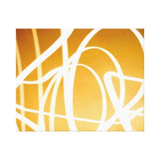 Abstract Light Painting Canvas Gallery Wrapped Canvas