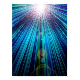 Abstract Light Postcard