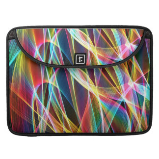 Abstract Light Streaks Sleeve For MacBook Pro