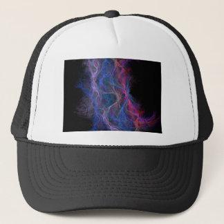 Abstract lightning background trucker hat