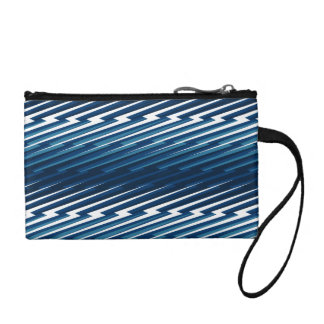 Abstract lightning coin purse