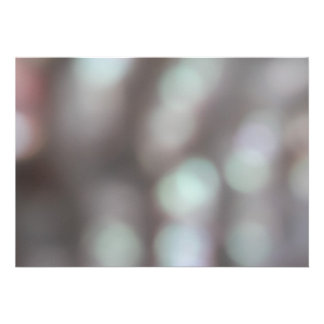 Abstract Lights in Soft Colors. Invite