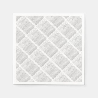 Abstract Line Art Design Paper Napkins
