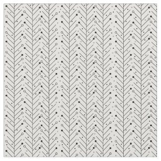 Abstract line pattern fabric