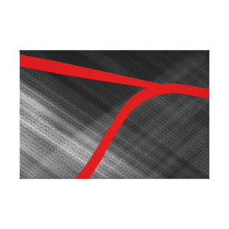 Abstract Linear Complex - Canvas Print
