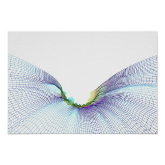 Abstract Lines 7 Poster